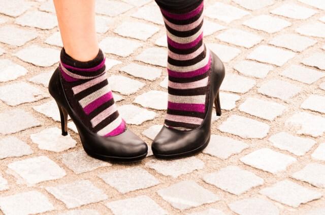 きつい靴下