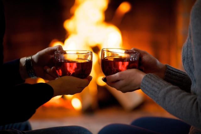 温かい飲み物